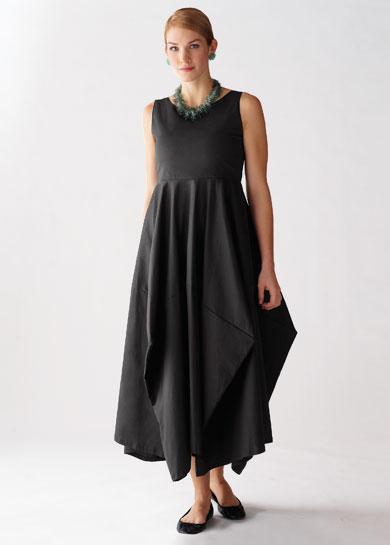 Beth Dress: Lynn Mizono: Cotton - Lycra Dress - Artful Home
