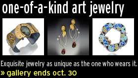 flash gallery: one-of-a-kind art jewelry