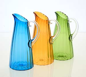 Decorative Art: Optic Pitchers by Cal Breed :  optic optical design cal breed picasso mio