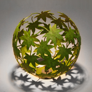 Japanese Maple: Rob Glebe: Metal Vessel - The Artful Home