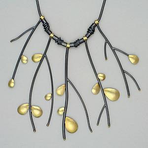 Primavera Necklace: Sydney Lynch: Gold & Silver Neckalce - Artful Home