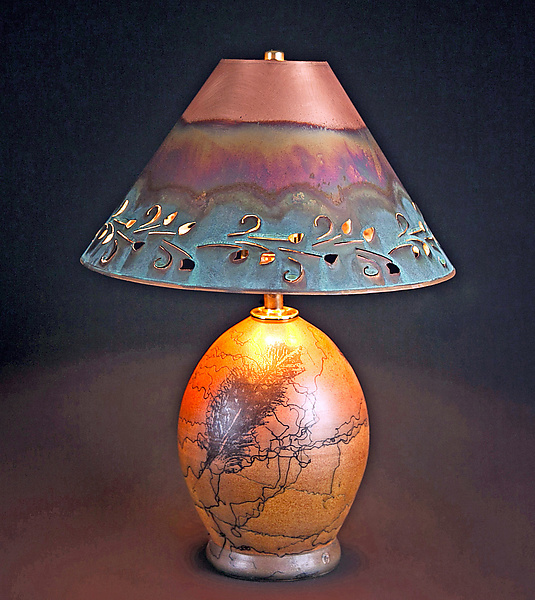 Copper Ceramic Table Lamp Best Inspiration For Table Lamp