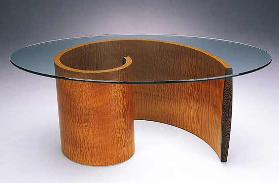Spiral Coffee Table By Richard Judd Wood Coffee Table Artful Home