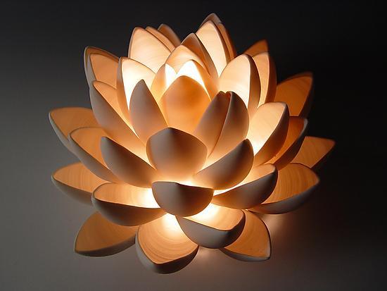 Lotus By Lilach Lotan Ceramic Table Lamp Artful Home