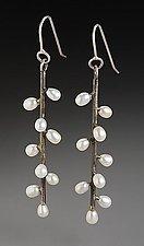 Silver & Pearl Earrings by Randi Chervitz