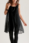 Organza Tunic by Amy Brill