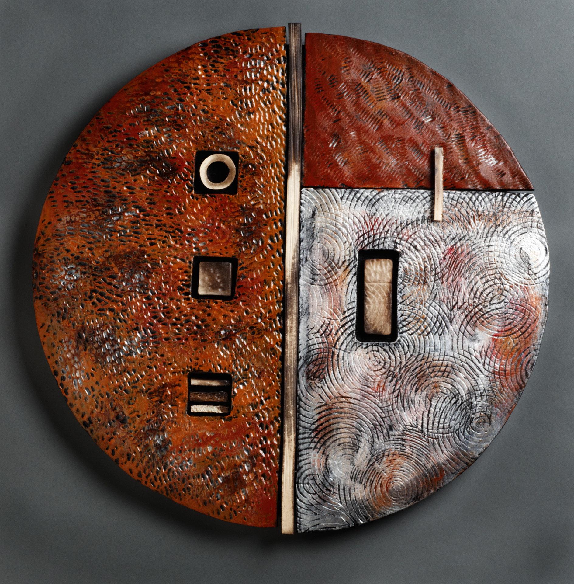 Rhonda cearlock artist profile artful home for Ceramic wall art