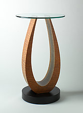 Wood Side Table by Richard Judd