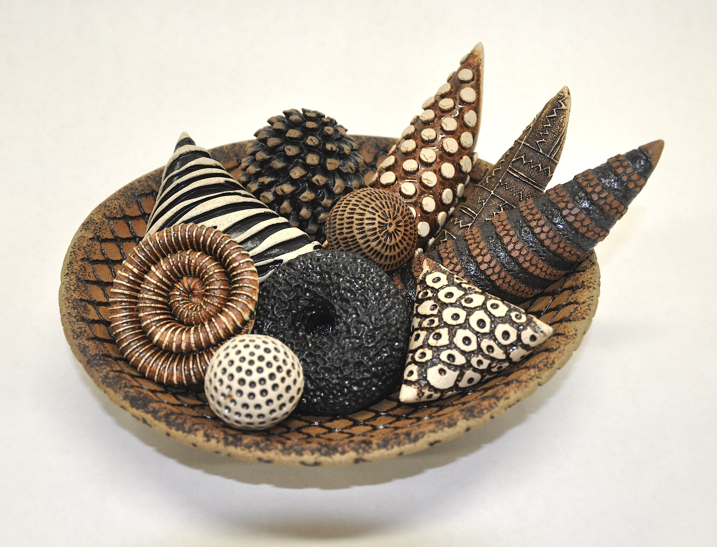 Bowls And Rattles Ii By Kelly Jean Ohl Ceramic Sculpture