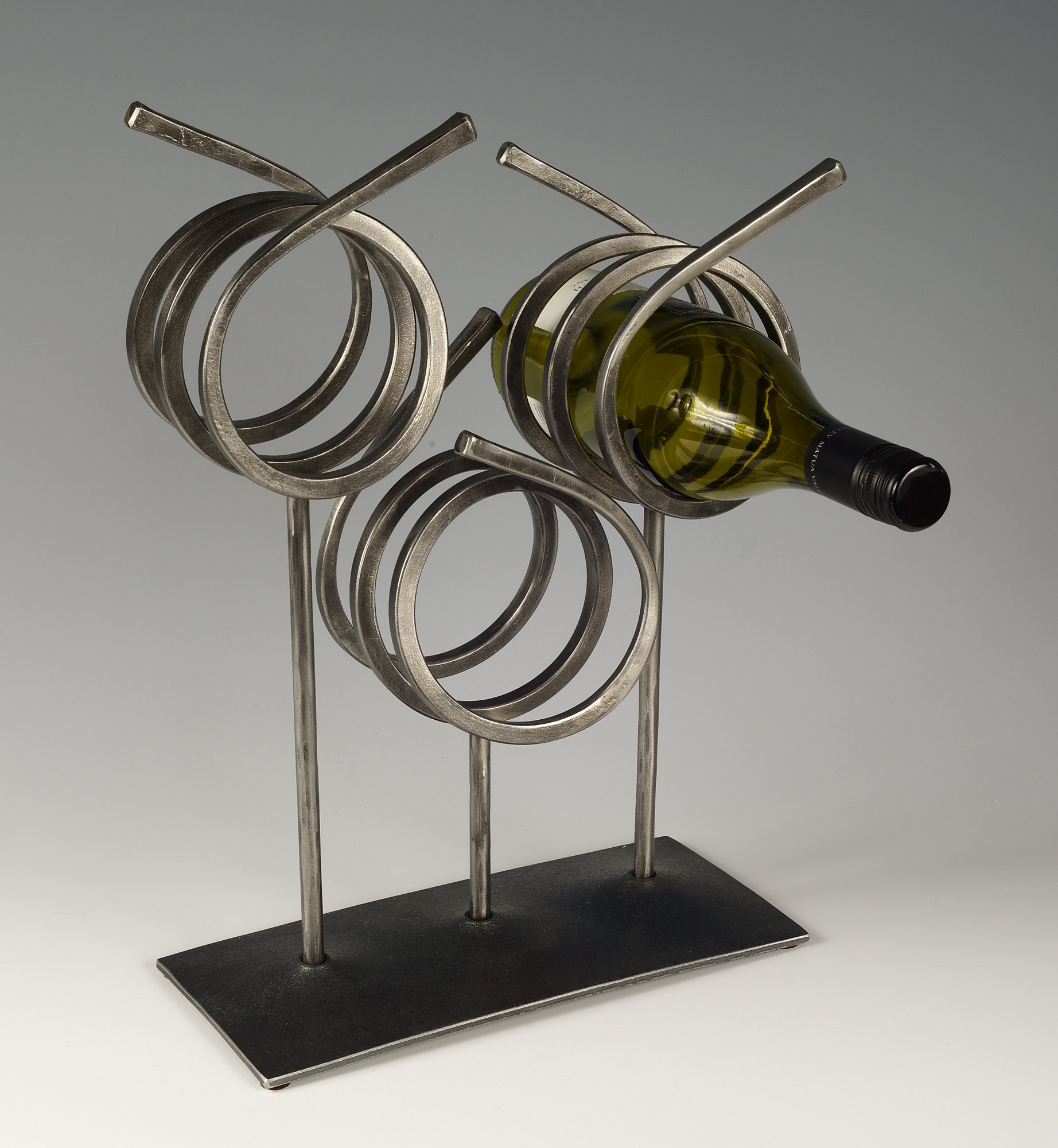 Wine Rack By Rob Caperell Metal Wine Rack Artful Home