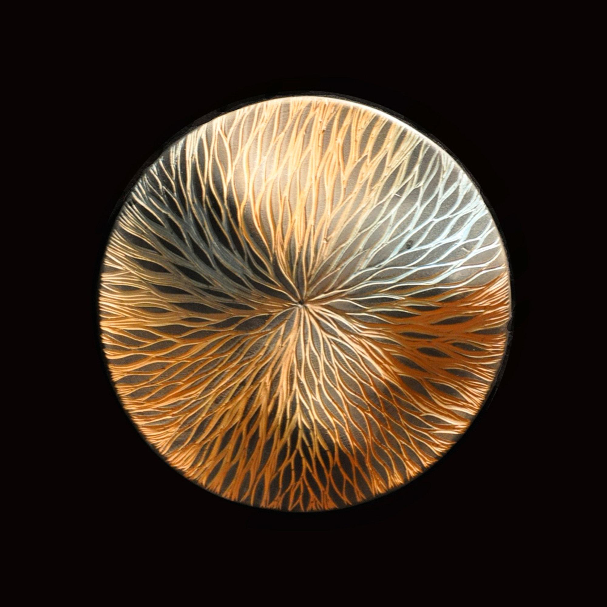 Foliage Wall Disc By Natalie Blake Ceramic Wall Art