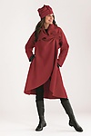 Wool Coat by Mieko Mintz