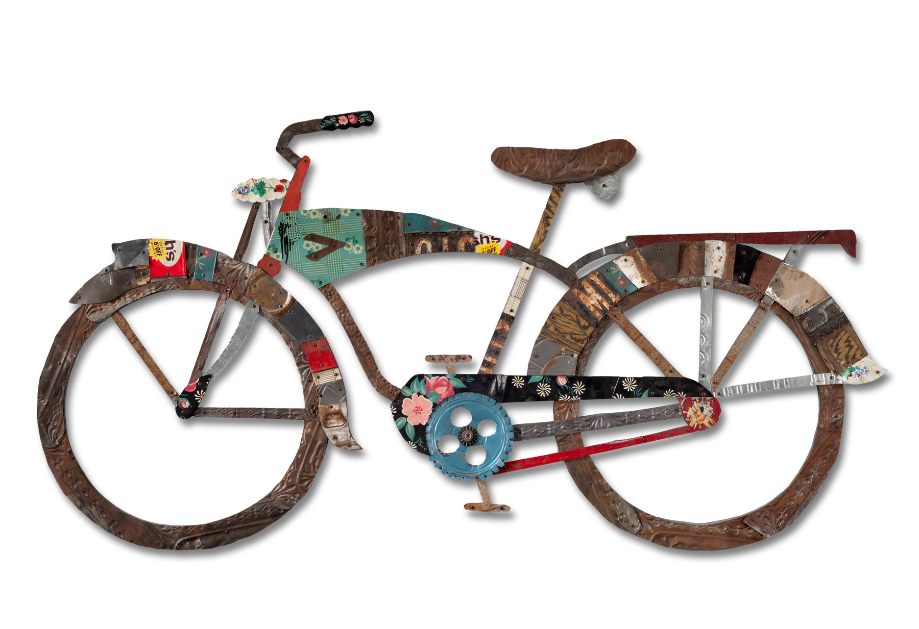 Wall Art Metal Bicycle : Bicycle collection by dolan geiman metal wall art