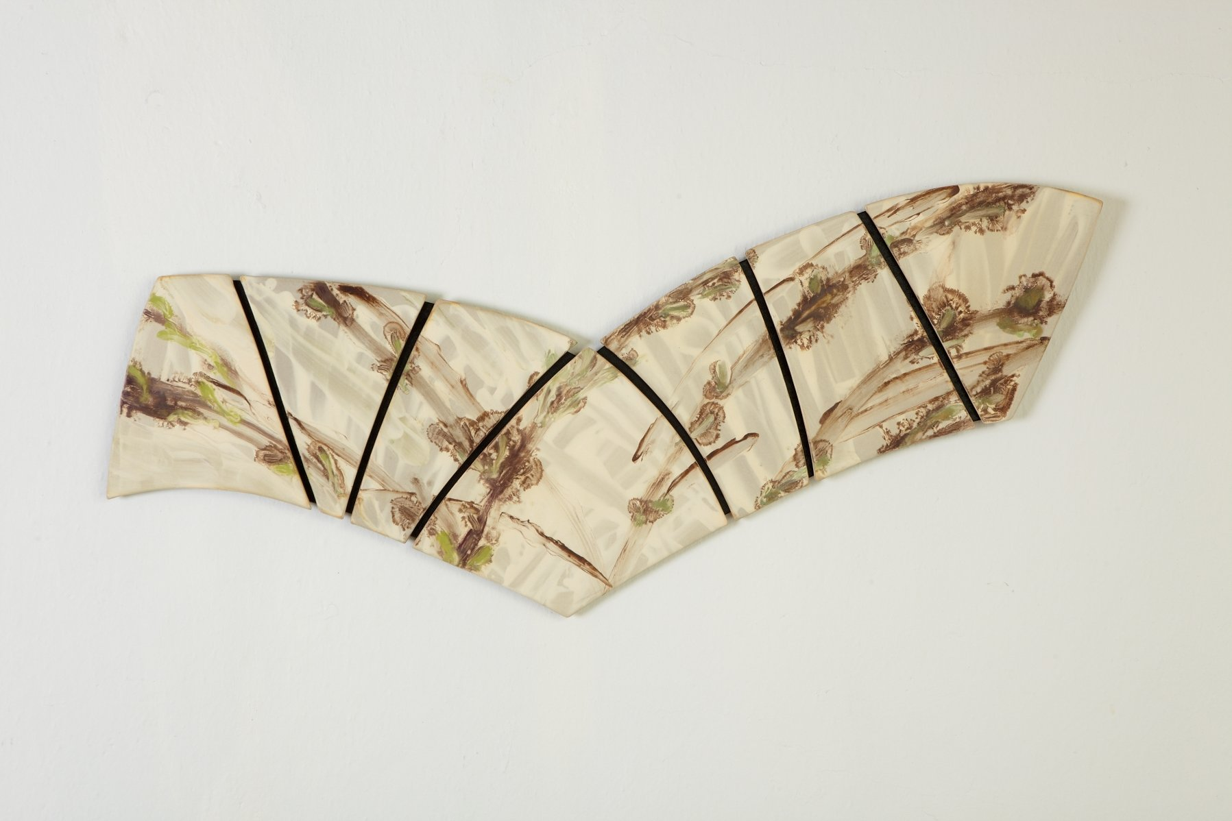 Wings by kristi sloniger ceramic wall art artful home for Ceramic wall art