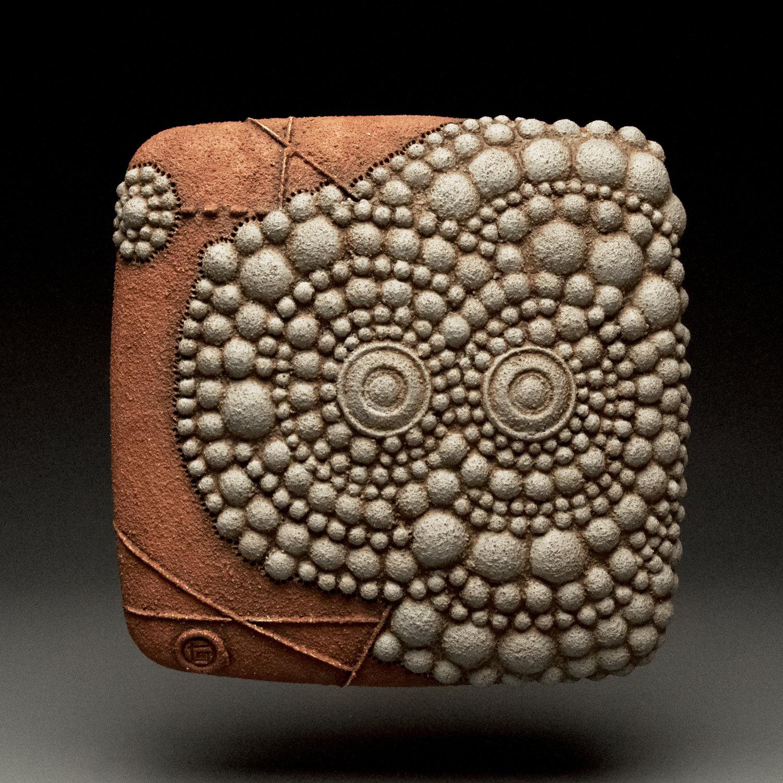 Dot Dance By Christopher Gryder Ceramic Wall Art