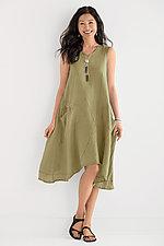 Linen Dress by Cynthia Ashby