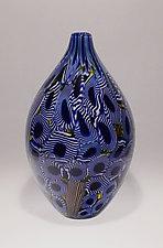 Art Glass Vessel by James Friedberg