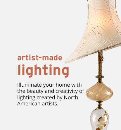 Unique Lighting By North American Artists Artful Home