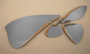 River Jewels: Jan Jacque: Ceramic & Wood Mirror Set - Artful Home :  mirror set ceramic wood