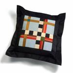 Hot Checks by Sonya Lee Barrington (Silk Pillow)