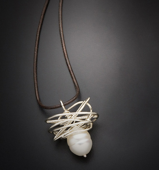 Pearl in a Nest Pendant