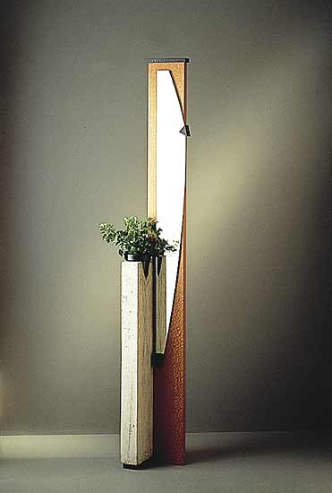Concrete Planter with Mirror
