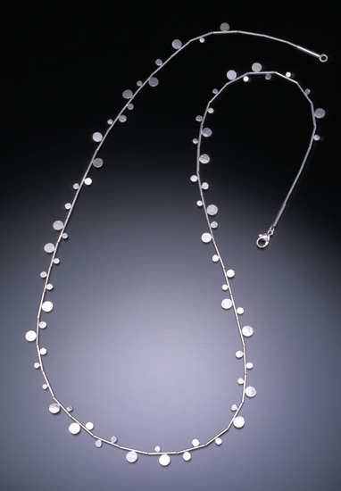 Sterling Dot Necklace