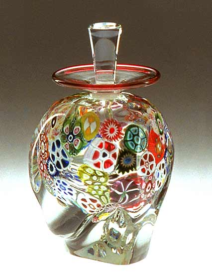 Multi-Murrini Perfume Bottle