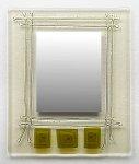 Trinity by Richard Altman (Art Glass Mirror)