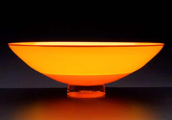 Orange & Yellow Incalmo Bowl