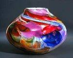 Shard Bowl by Randi Solin (Art Glass Vessel)