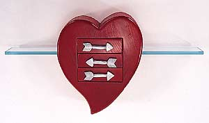 Three Drawer Heart image