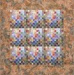 Earth Quilt #84: Celebration Of Life XIX by Meiny Vermaas-van der Heide (Fiber Wall Hanging)