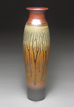 Floor Vase by Mike Walsh (Ceramic Vase)