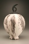 Horsehair Clef by Bruce Johnson (Ceramic Vessel)