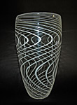 Rain by Mike Wallace (Art Glass Vase)