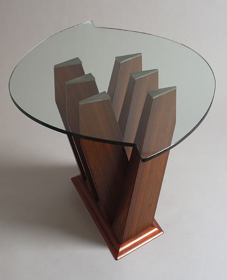 Coffee Table: Brazilian Rosewood & Padauk