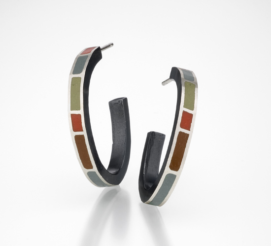 Colorblock Hoops