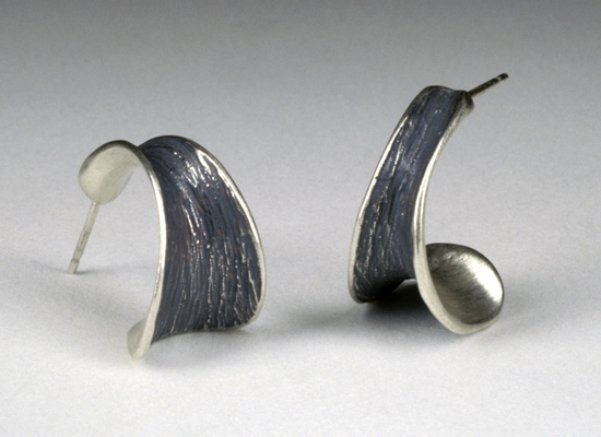 Short Horn Earrings