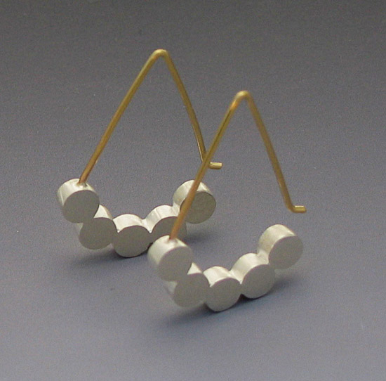 Five Dot Earring