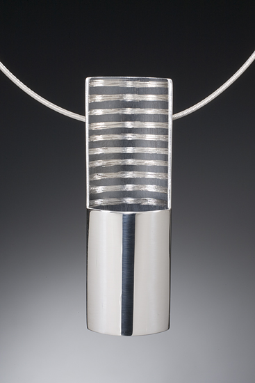 Striped Vertical Pendant