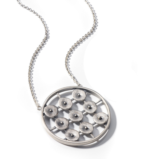 """Circles in Motion Pendant"""