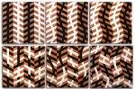 Illusion Tiles Set by Marek Jacisin (Ceramic Wall Sculpture)