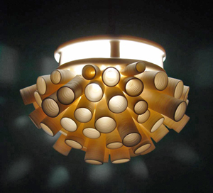 Tubes Pendant Lamp: Lilach Lotan: Ceramic Pendant Lamp - Artful Home :  lamp ceramic artists designers photographs