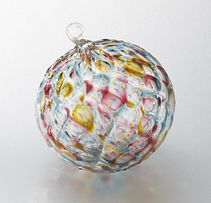 Kaleidoscope: Thomas Steinman: Art Glass Ornament - Artful Home :  thomas steinman kaleidoscop holiday glass