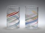 Tumblers by Tom Stoenner (Art Glass Tumblers)