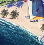 Coastal Shadows 1 by Doug Morris (Giclée Print)