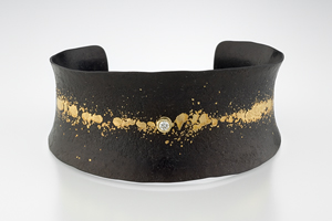 Mezzo Cuff: Pat Flynn: Iron & Stone Cuff - The Artful Home :  cuff forged pat flynn iron