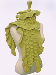 Boa: Sonya Mackintosh: Knit Scarf - Artful Home :  wool cotton scarf women