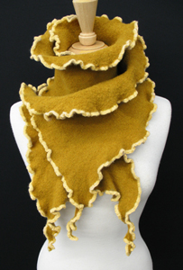 Merino Kelp: Sonya Mackintosh: Knit Scarf - Artful Home :  apparel wool fashion winter